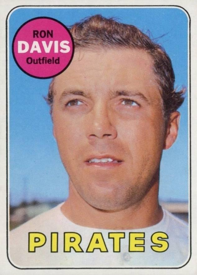 Ron Davis Baseball Cards