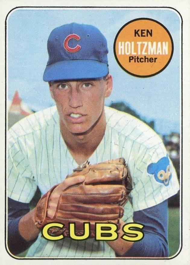 Chicago Cubs Ken Holtzman Signed Autographed 1980 Topps Baseball Card