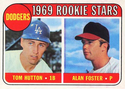 1969 Topps Alan Foster #266 Baseball Card