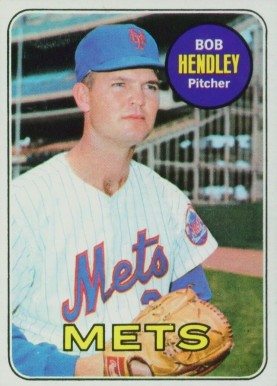 1969 Topps Bob Hendley #144 Baseball Card