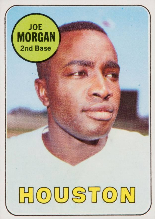 1969 Topps Joe Morgan #35 Baseball Card