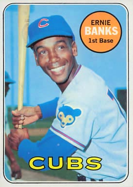 1969 Topps Ernie Banks #20 Baseball Card