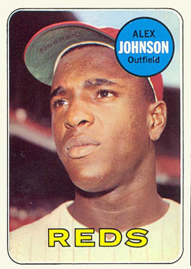 1969 Topps Alex Johnson #280 Baseball Card