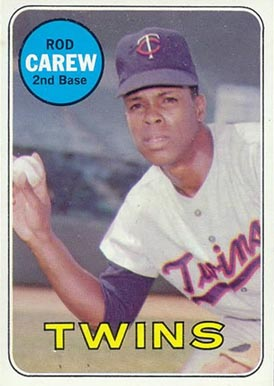 1969 Topps Rod Carew #510 Baseball Card