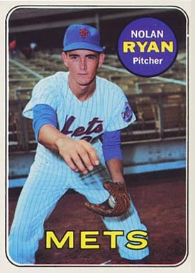 1969 Topps Nolan Ryan #533 Baseball Card