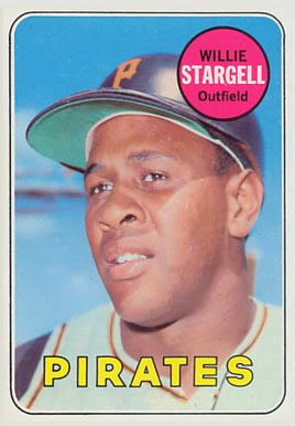 1969 Topps Willie Stargell #545 Baseball Card