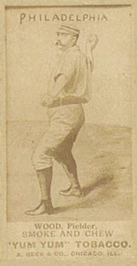 1888 Yum Yum Tobacco George Wood #61 Baseball Card