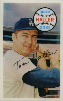 1970 Kellogg's Tom Haller #25 Baseball Card