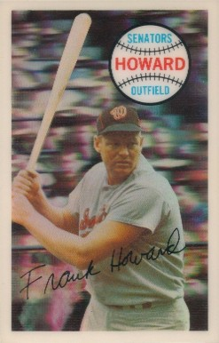 1970 Kellogg's Frank Howard #6 Baseball Card