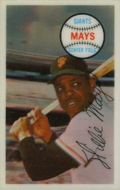 1970 Kellogg's Willie Mays #12 Baseball Card