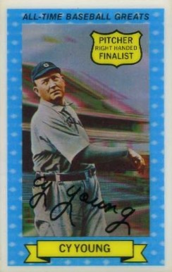 1970 Rold Gold Pretzels Cy Young #12 Baseball Card