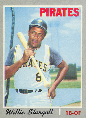 1970 Topps Willie Stargell #470 Baseball Card