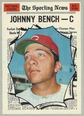 1970 Topps Johnny Bench #464 Baseball Card