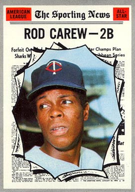 1970 Topps Rod Carew #453 Baseball Card