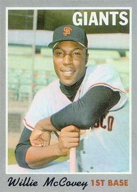 1970 Topps Willie Mccovey 250 Baseball Vcp Price Guide