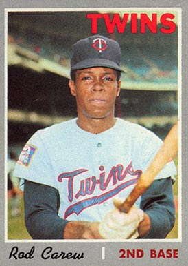 1970 Topps Rod Carew #290 Baseball Card