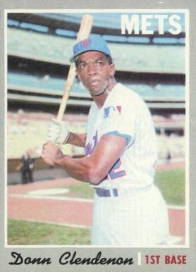1970 Topps Donn Clendenon 280 Baseball Card Value Price Guide