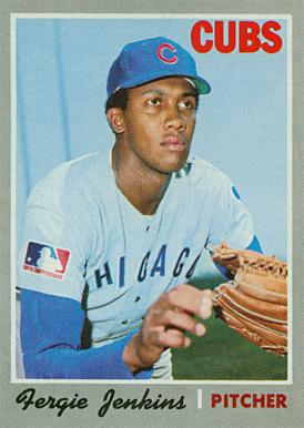1970 topps fergie jenkins 240 baseball card value price guide