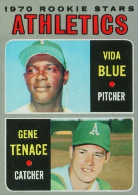 1970 Topps Vida Blue #21 Baseball Card