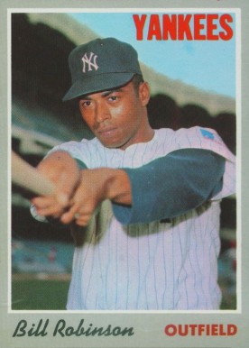 1970 Topps Bill Robinson #23 Baseball Card
