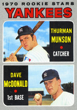1970 Topps Dave McDonald #189 Baseball Card