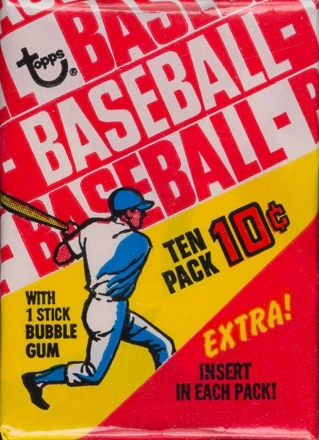 1970 Topps Wax Pack #WP Baseball Card