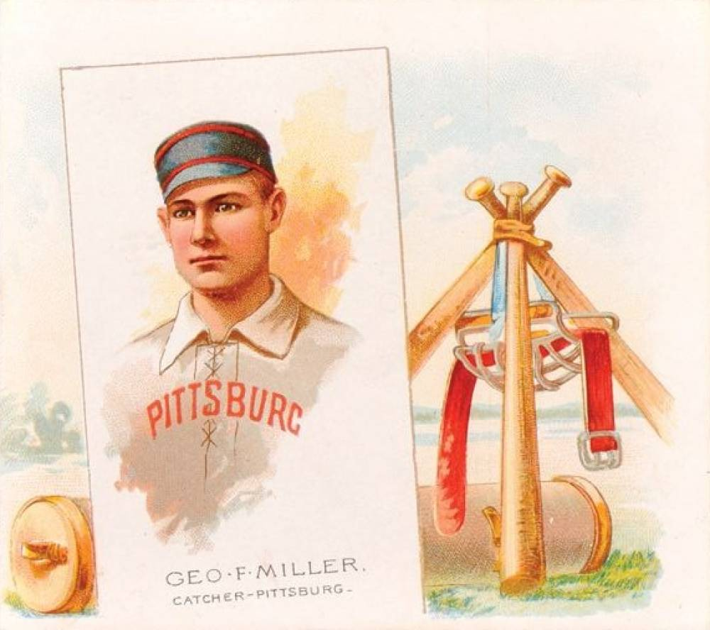 1888 Allen & Ginter George Miller #31 Baseball Card