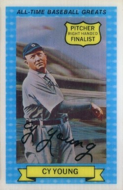 1972 Kellogg's  All-Time Baseball Greats Cy Young #12 Baseball Card