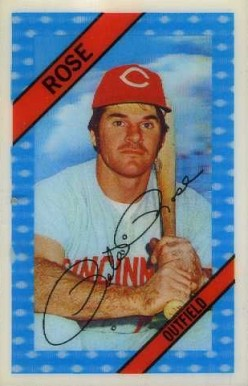 1972 Kellogg's Pete Rose #6 Baseball Card