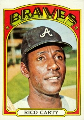 1972 Topps Rico Carty #740 Baseball Card