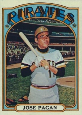 1972 Topps Jose Pagan #701 Baseball Card