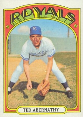 1972 Topps Ted Abernathy #519 Baseball Card