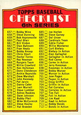 1972 Topps   #604-left Baseball Card