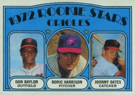 1972 Topps Don Baylor #474 Baseball Card