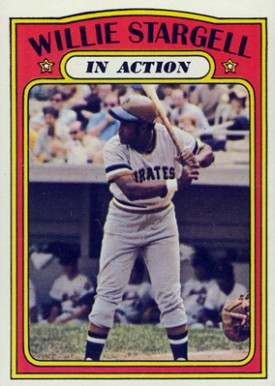 1972 Topps Willie Stargell #448 Baseball Card
