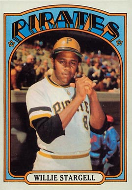 1972 Topps Willie Stargell #447 Baseball Card