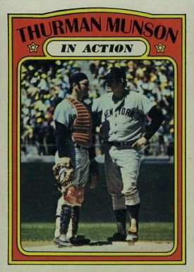 1972 Topps Thurman Munson #442 Baseball Card