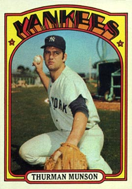 1972 Topps Thurman Munson #441 Baseball Card