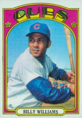 1972 Topps Billy Williams #439 Baseball Card
