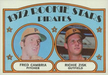 Pittsburgh RC 1971 Topps #27 Fred Cambria Gene Clines Pirates Rookie Stars