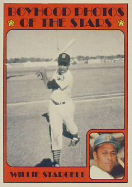 1972 Topps Willie Stargell #343 Baseball Card