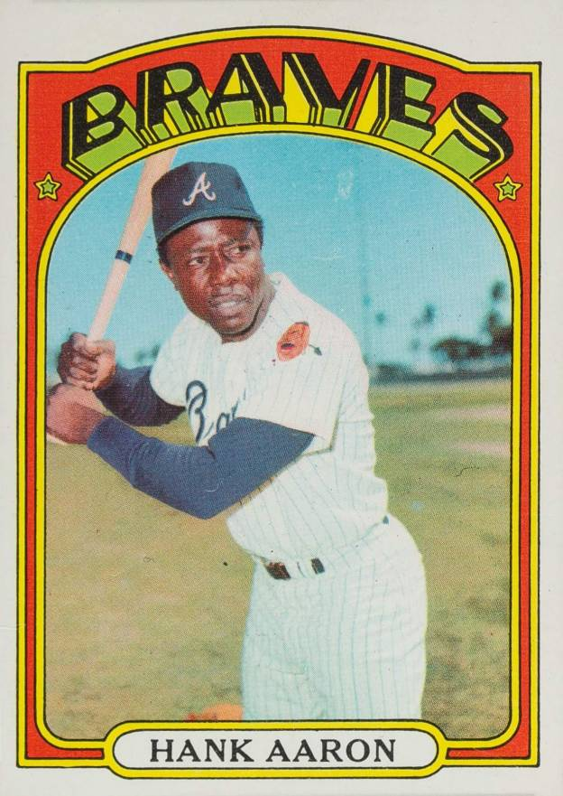 1972 Topps Hank Aaron #299 Baseball Card