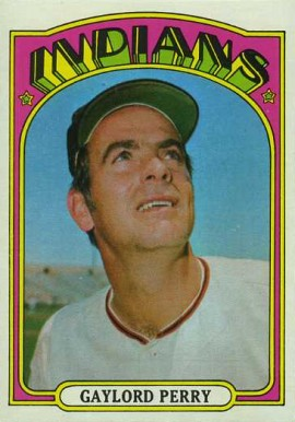 1972 Topps Gaylord Perry #285 Baseball Card