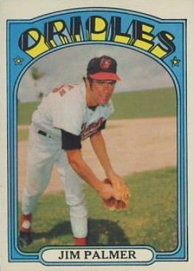 1972 Topps Jim Palmer #270 Baseball Card