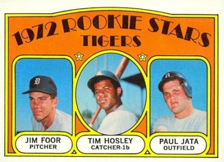 1972 Topps Tigers Rookies #257 Baseball Card