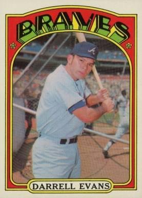 Darrell Evans Baseball Cards