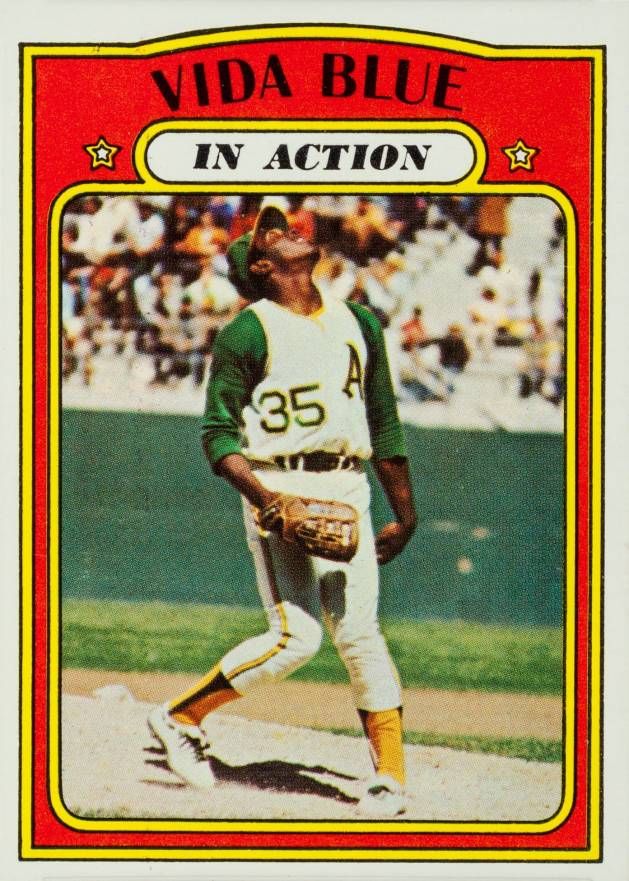 1972 Topps Vida Blue #170 Baseball Card
