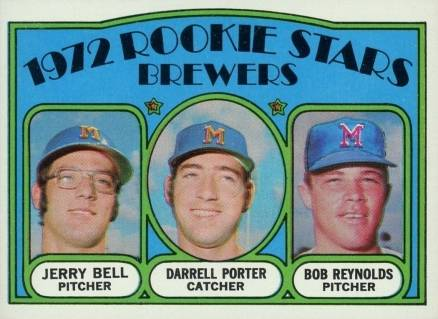 1972 Topps 1972 Rookie Stars Brewers #162 Baseball Card