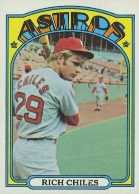 1972 Topps Rich Chiles #56 Baseball Card