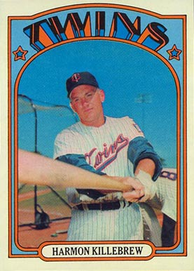 1972 Topps Harmon Killebrew #51 Baseball Card